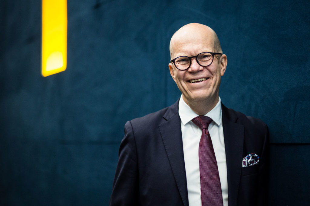 Kuntarahoituksen toimitusjohtaja Esa Kallio