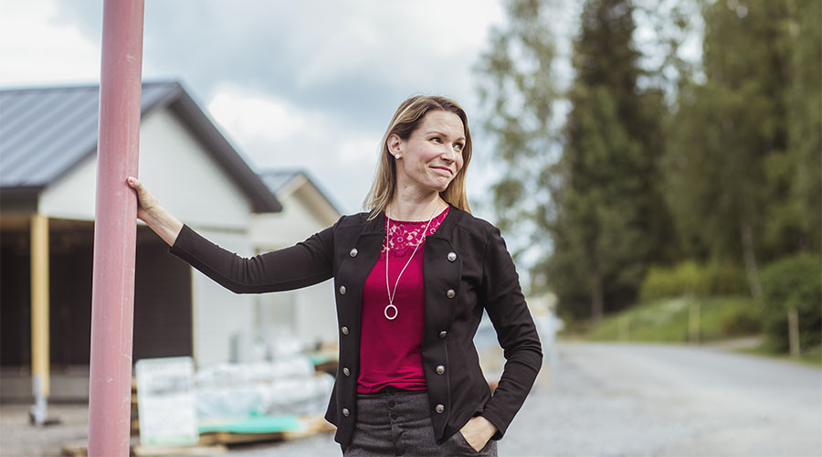 Vihdin elinvoimajohtaja Petra Ståhl