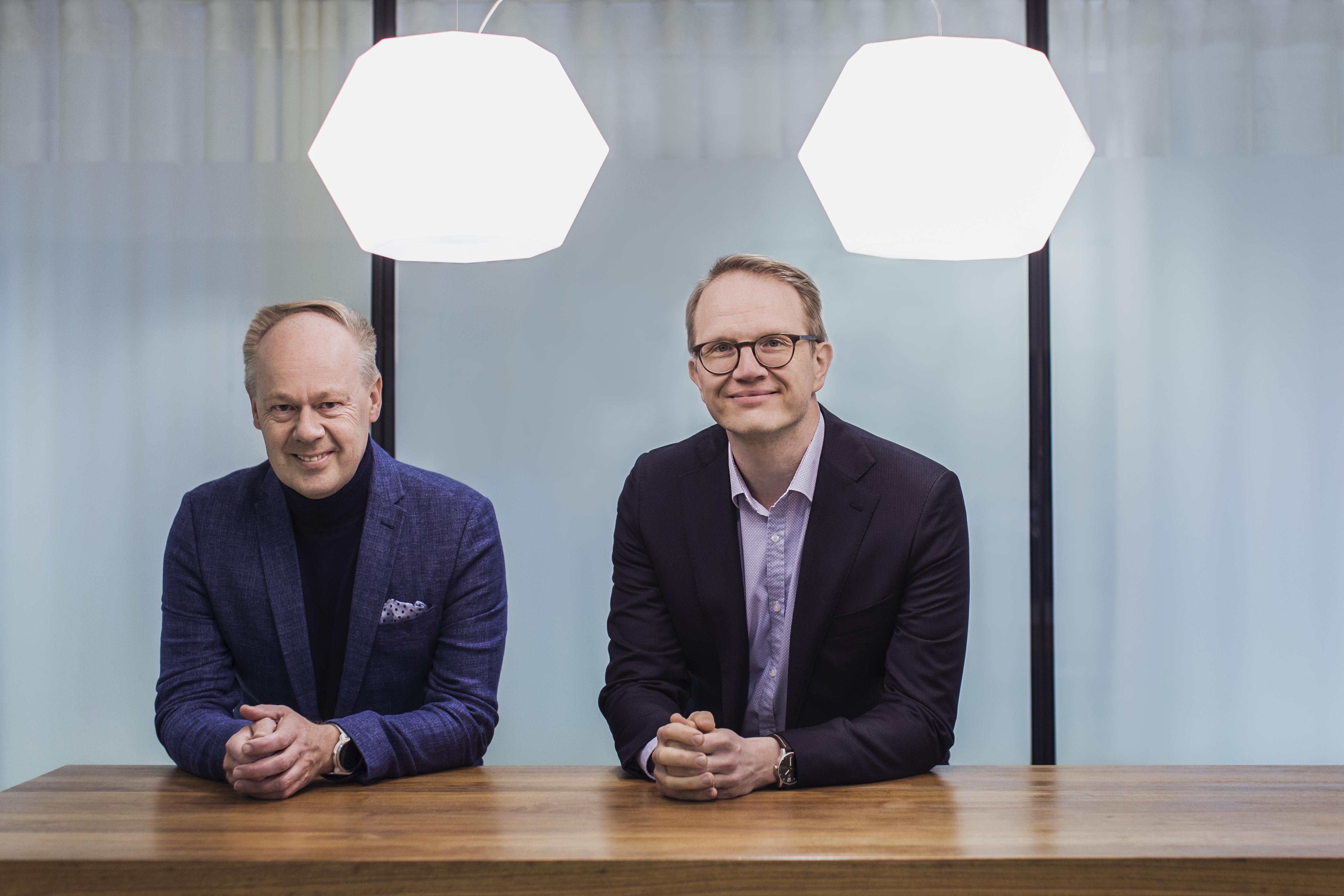 MDI:n aluetutkija Timo Aro ja Kuntarahoituksen pääekonomisti Timo Vesala
