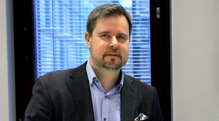 Valtiovarainministeriön Jani Pitkäniemi