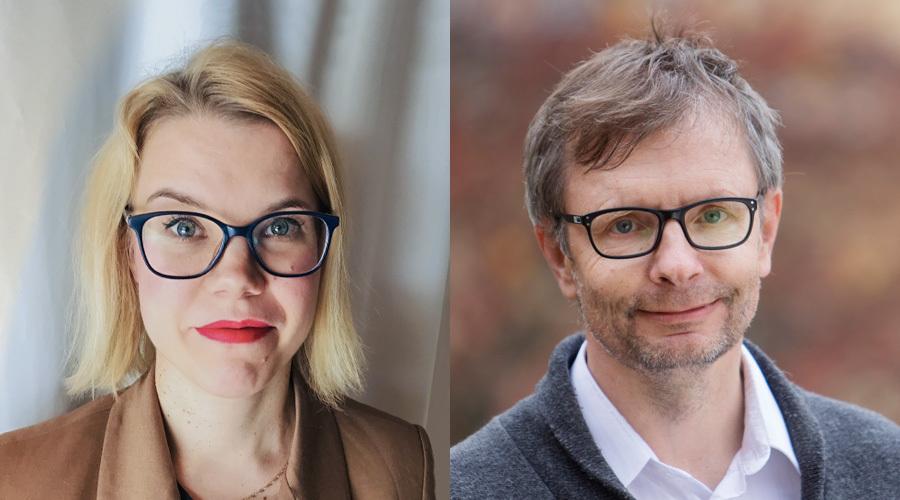 Heli Knutars ja Heikki Hiilamo
