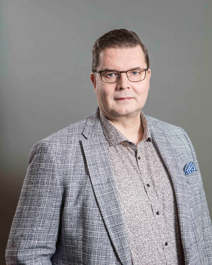 Y-Säätiön talousjohtaja Kari Komu.