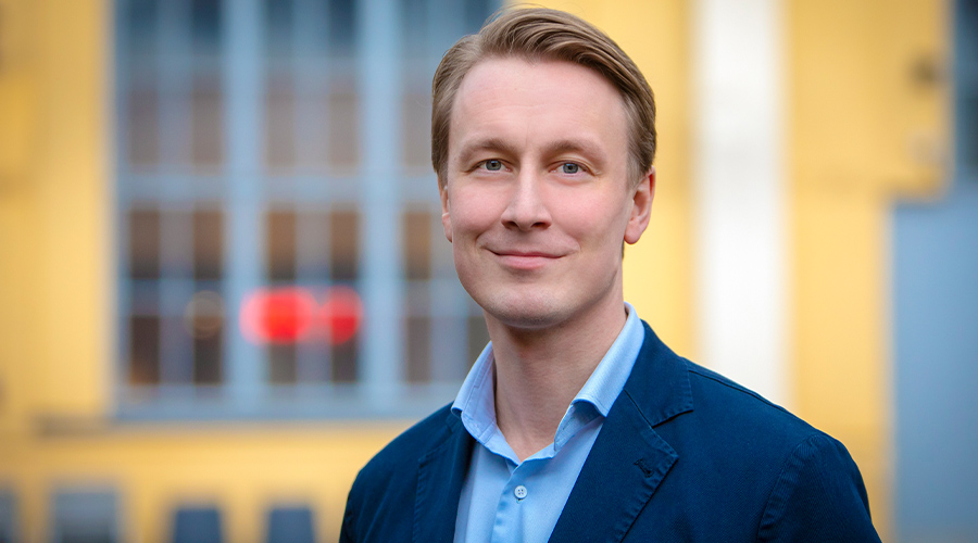Inspiran senior konsultti Juho Paananen.