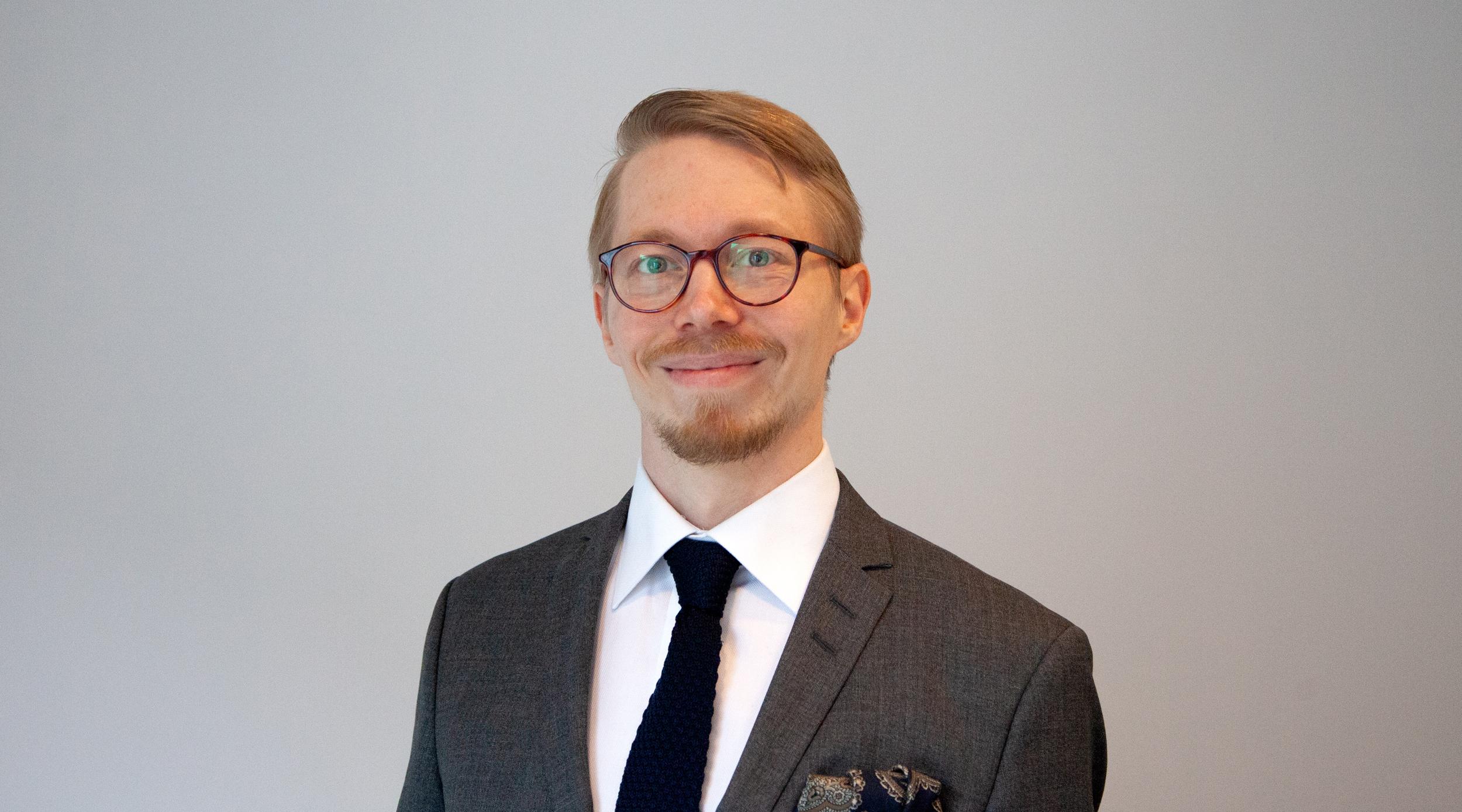 Kuntarahoituksen Sustainability Manager Kalle Kinnunen
