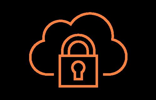 Kuvituskuva, jossa on piirretty lukko tietoturvan symbolina.