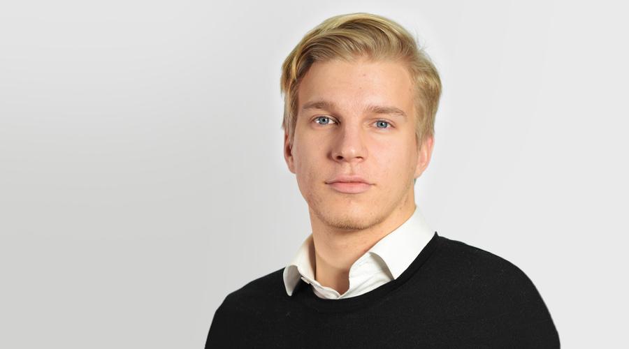 Jere Rytkönen on työskennellyt kesän Kuntarahoituksessa riskienhallinnan ja analytiikan parissa.