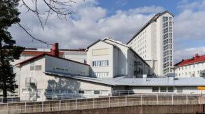 Kuvassa on Pohjois-Karjalan keskussairaalan rakennuksia.