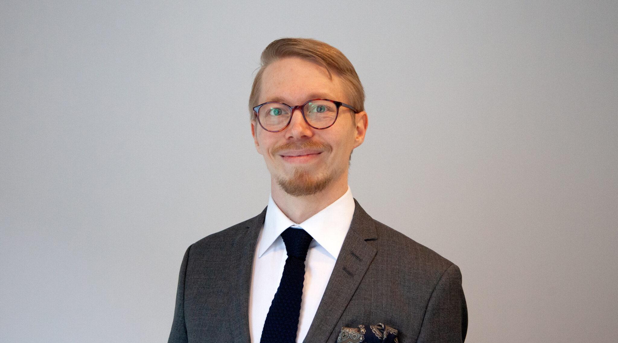 Photo of Kalle Kinnunen, MuniFin´s Sustainable Manager