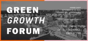 Event info on Green Growth Forum in Lahti Finland
