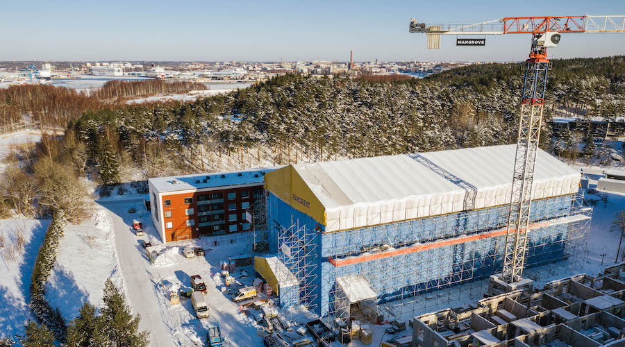 TVT Asunnot buildings under construction